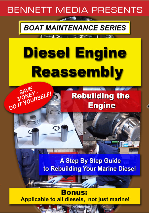 Boat Maintenance Series: Diesel Engine Reassembly