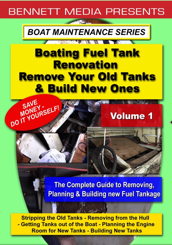 Boating Fuel Tank Renovation Vol. 1 - Removing Old Tanks & Building New Ones