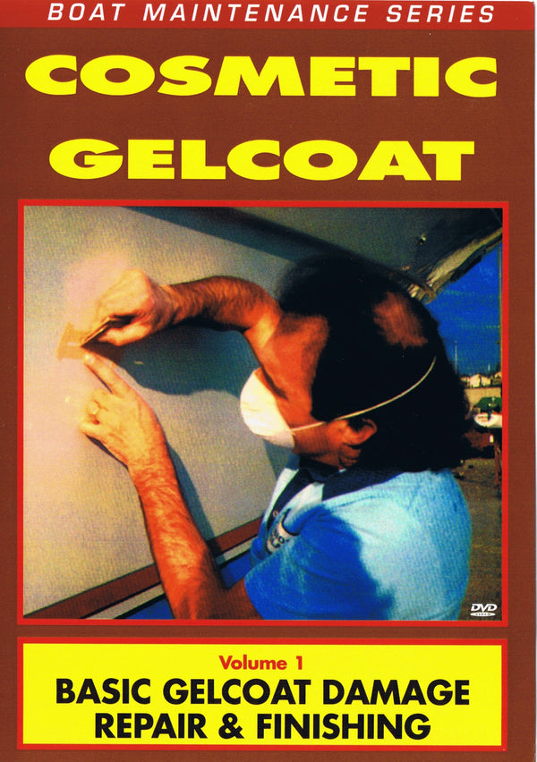 Cosmetic Gelcoat: Basic Gelcoat Damage Repair & Finishing