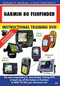 Garmin 80 Fishfinder (DVD)