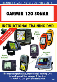 Garmin 120 Sonar Operation Only (DVD)