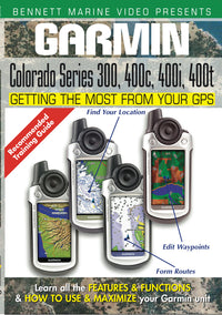 Garmin Colorado Series 300, 400c, 400i & 400t (DVD)