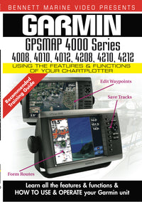 Garmin GPSMAP 4000 Series: 4008, 4010, 4012, 4208, 4210, 4212 (DVD)