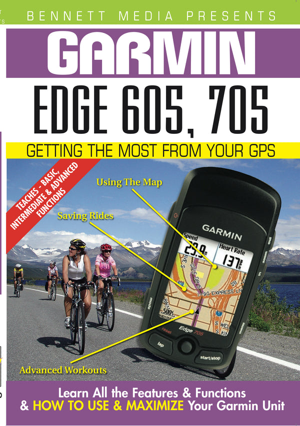 Garmin Edge 605, 705 (DVD)