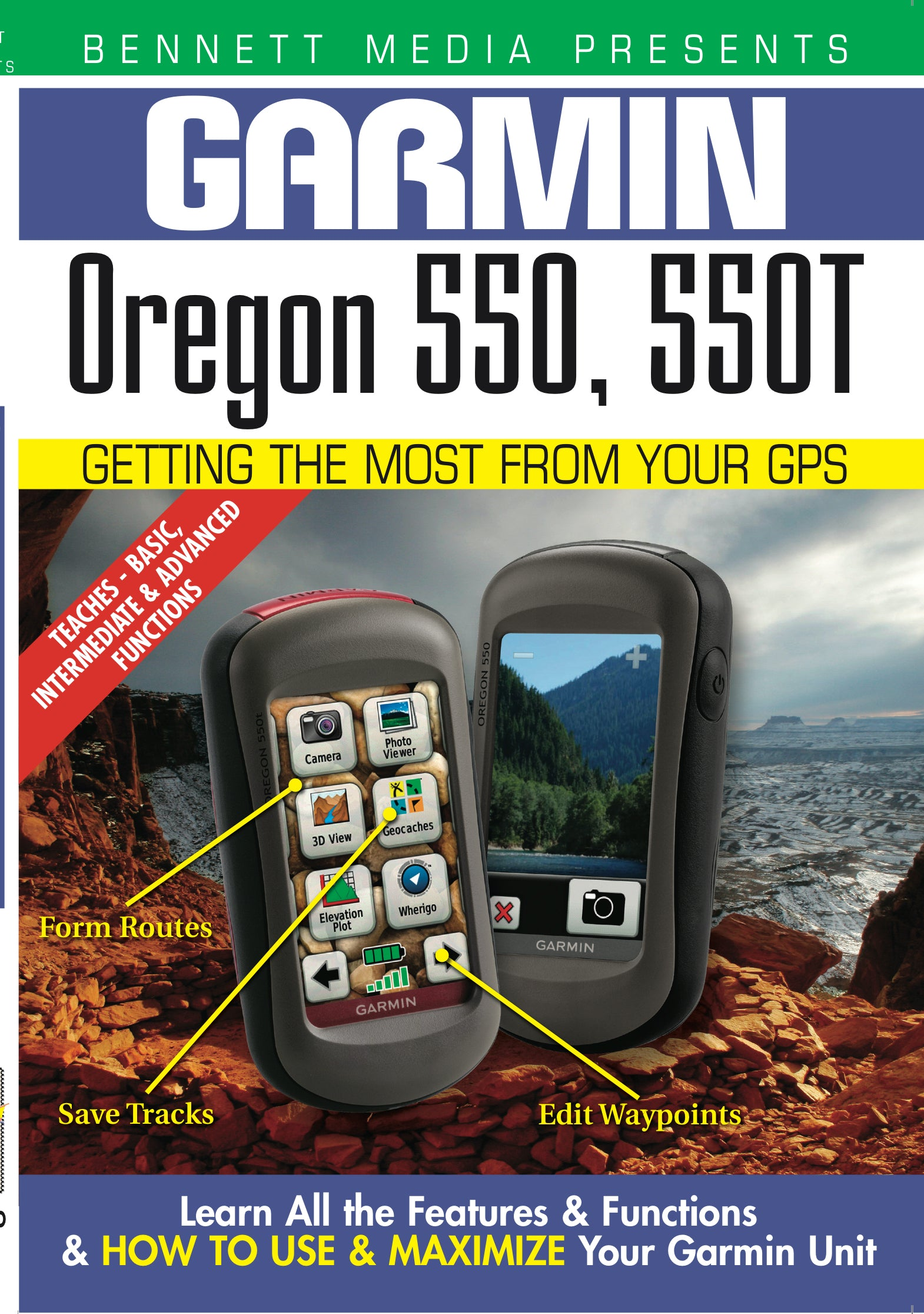 Garmin Oregon 550, 550T (DVD)