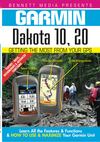 Garmin Dakota 10, 20 (DVD)