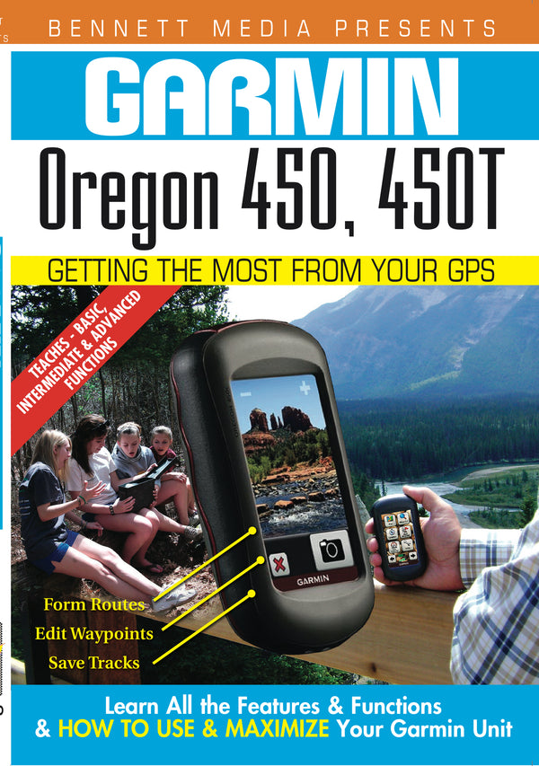 Garmin Oregon 450, 450t DVD