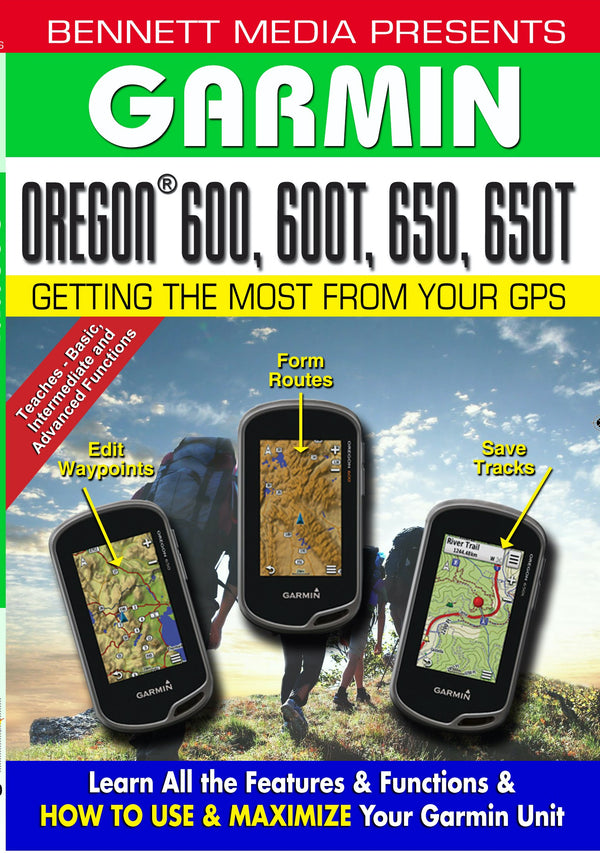 Garmin Oregon 600, 600T, 650, 650T (DVD)