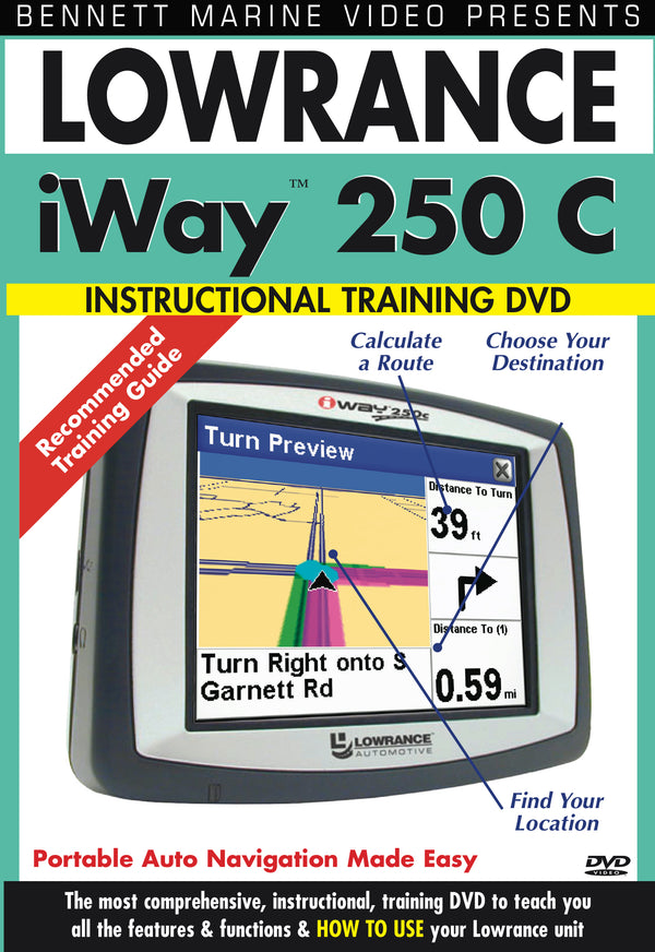 Lowrance Iway 250c (DVD)