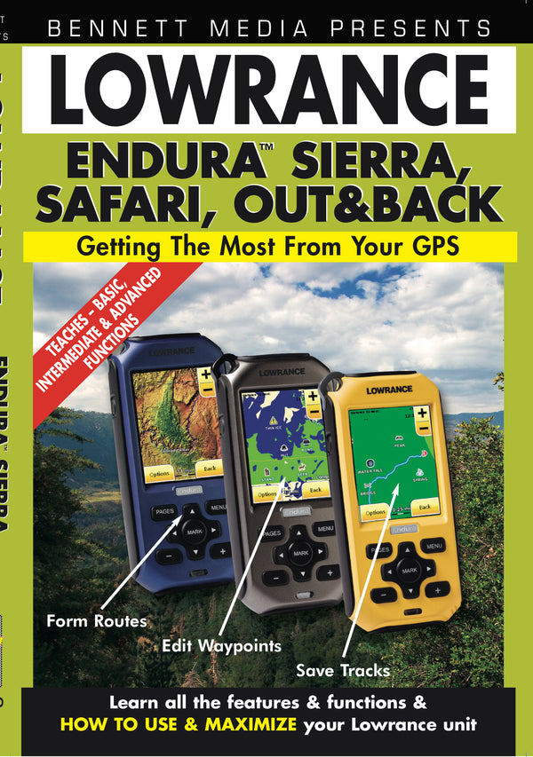 Lowrance Endura Sierra, Safari, Out & Back (DVD)
