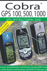 GPS Instructional DVD: Cobra GPS 100, 500, 1000