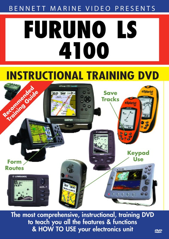 Furuno LS 4100 Instructional Training DVD