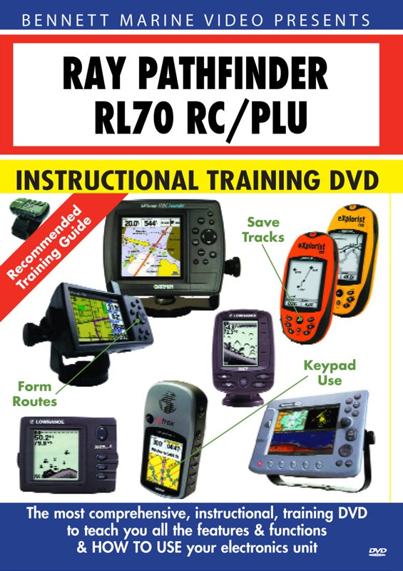 Raymarine Pathfinder RL70 RC/PLU Chartplotter Operation Only (DVD)