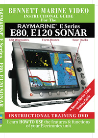 Raymarine E Series: E80, E120 Sonar Operation Only