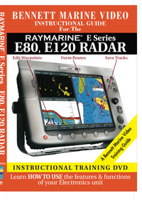 Raymarine E Series: E80, E120 Radar Operation Only (DVD)