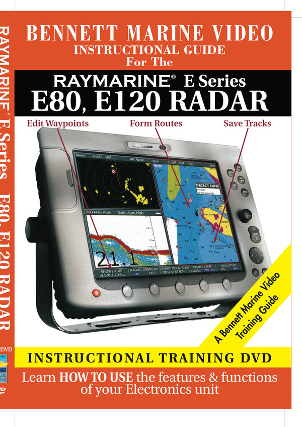 Raymarine E Series: E80, E120 Radar Operation Only