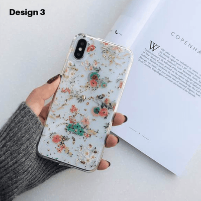 """Floral Foil"" iPhone Case"