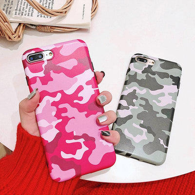 """Soft Camo"" iPhone Case"
