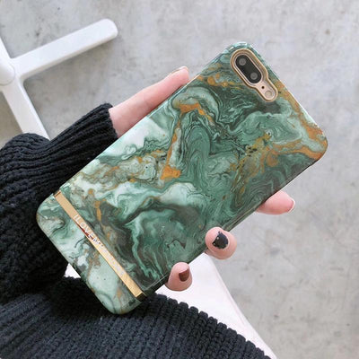 Green Marble Case