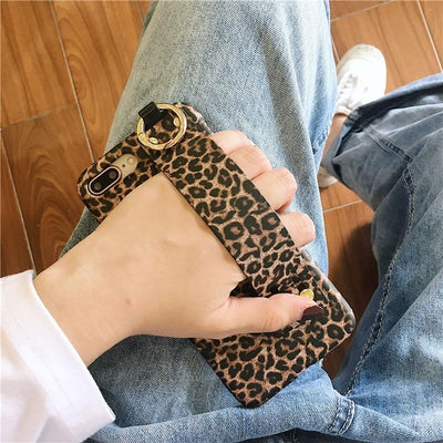 """Leopard Strap"" iPhone Case"
