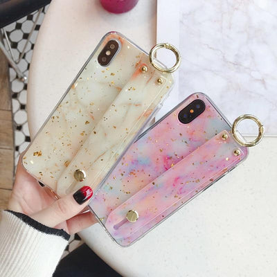 Glossy Glitter iPhone Case