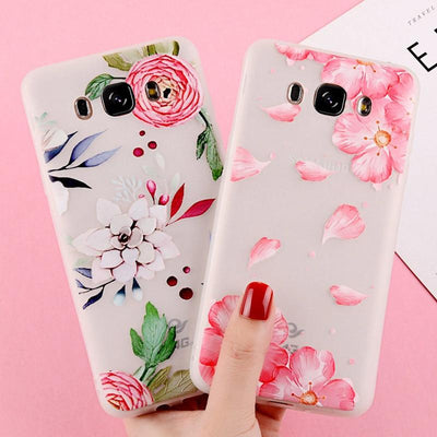 3D Flower - Samsung Case
