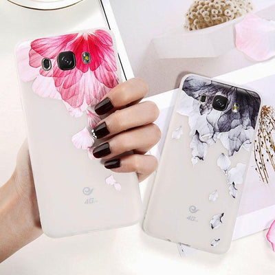 Soft Flower - Samsung Case