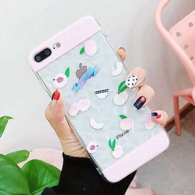 Diamond Clear iPhone Case