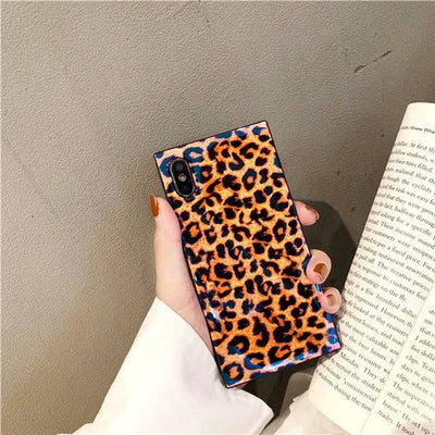 Leopard Box iPhone Case