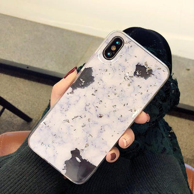 Glitter Marble - iphone case