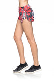 Pop Up Shorts- Floral