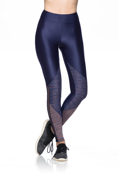 Groove Leggings- Navy Blue