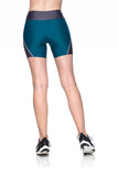 Tri Belt Shorts - Dark Green