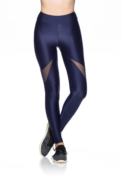 Perfect Tulle Leggings - Navy Blue