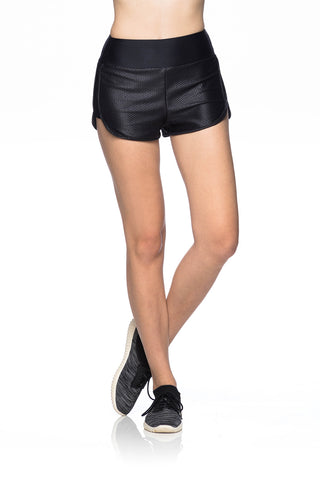 Grid Shorts - Black