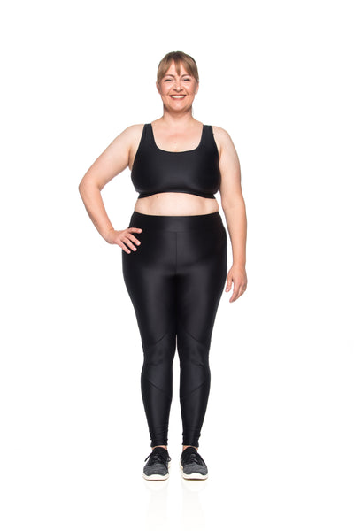 Ju New Sports Bra - Black - Plus Size