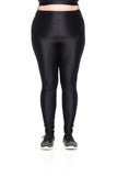 K Micro Legging - Black - Plus Size