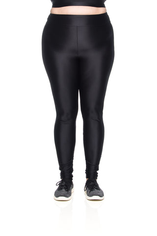 Karen Micro Legging - Black - Plus Size