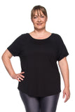New Pocket T-Shirt - PLUS SIZE - Black