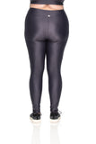 Karen Micro Legging - Graphite - Plus Size