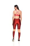 Intensity Legging - Brigth Marsala
