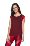 Snake Tank Top - Dark Red