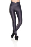 Waistband Reflect Leggings - Graphite