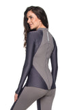 Geo Reflect Jacket - Graphite.