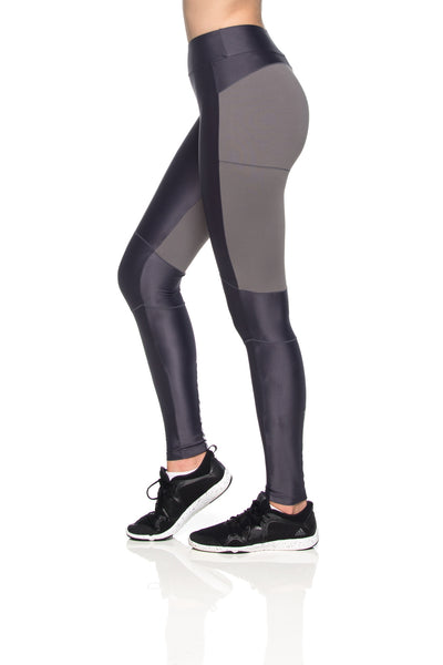 Knees Reflect Leggings - Graphite