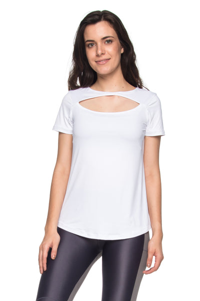 Run Reflect Tee - White