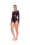 Skin Bodysuit - Dark Purple