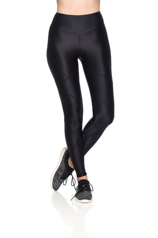 Crystal Micro Leggings - Black