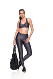 K Micro Leggings - Graphite