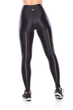 Elastic Costas Legging - Black